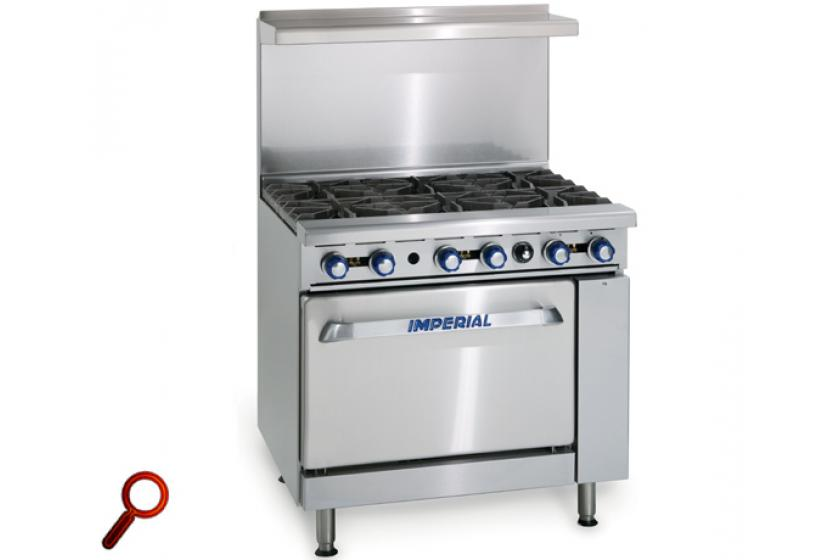 Imperial Gas Range With Convection Oven Ir6 C Delivery